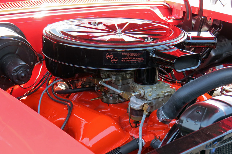 Power comes from Chevrolet's 348 CID V8.