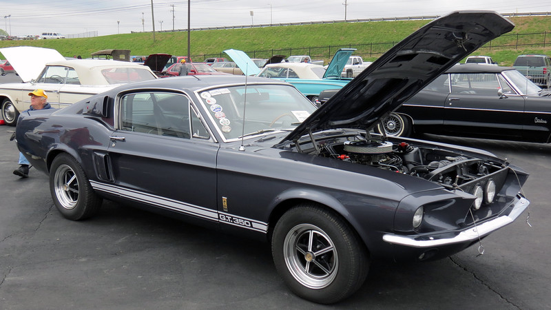 1967 Shelby GT350 Mustang.