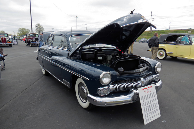 Since the brand's introduction in 1939, Mercury sales had hovered in the 75,000 - 85,000 unit range.  That all changed for the 1949 model year thanks to very well received styling and engineering updates.  Sales more than tripled, topping 300,000 cars in 1949, and 293,000 cars in 1950.  The customized 1949 Mercury driven by James Dean in the film Rebel Without a Cause only added to the car's popularity.