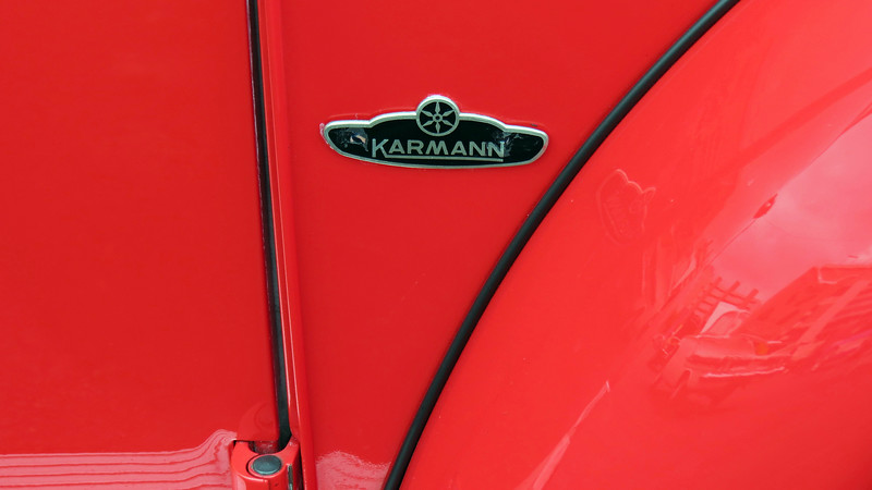 German vehicle builder Karmann built numerous vehicles for different manufacturers, one of which was the Volkswagen Beetle convertible.  Karmann built more than 330,000 Beetle convertibles for Volkswagen from 1949 - 1980.