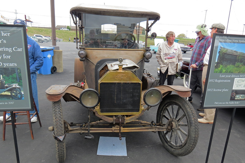 A wonderfully original 1915 Ford Model T Touring Car.