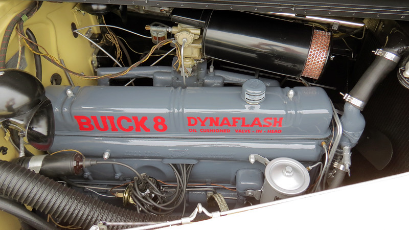 "Power comes from Buick's 320 CID ""Dynaflash"" I8 that makes 141 silent hp."
