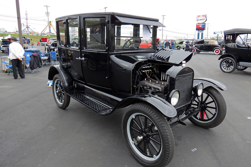 The second car is a 1925 Ford Model T.