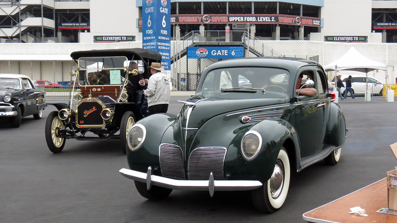 Another 1938 Lincoln Zephyr was right behind the first one.