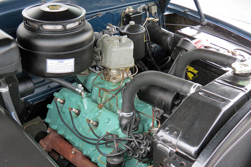 """Power comes from a 255 CID """"flathead"""" V8 makes 110 hp."""