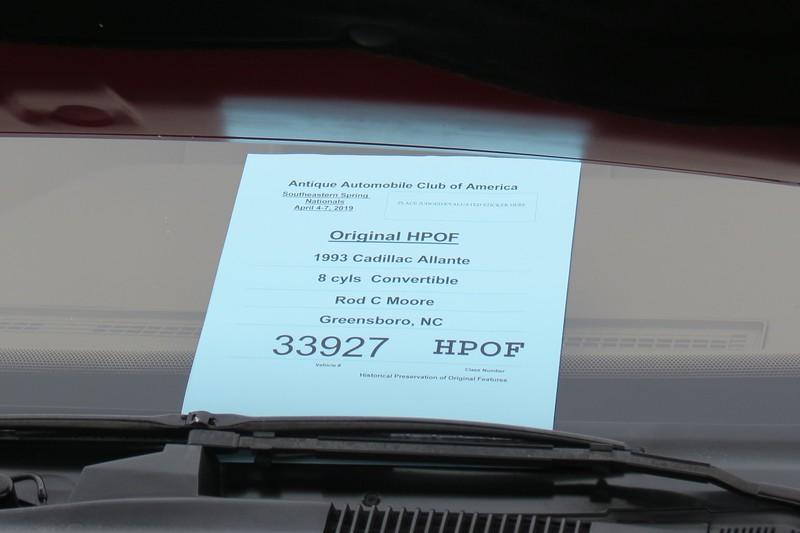1993 Cadillac Allante.