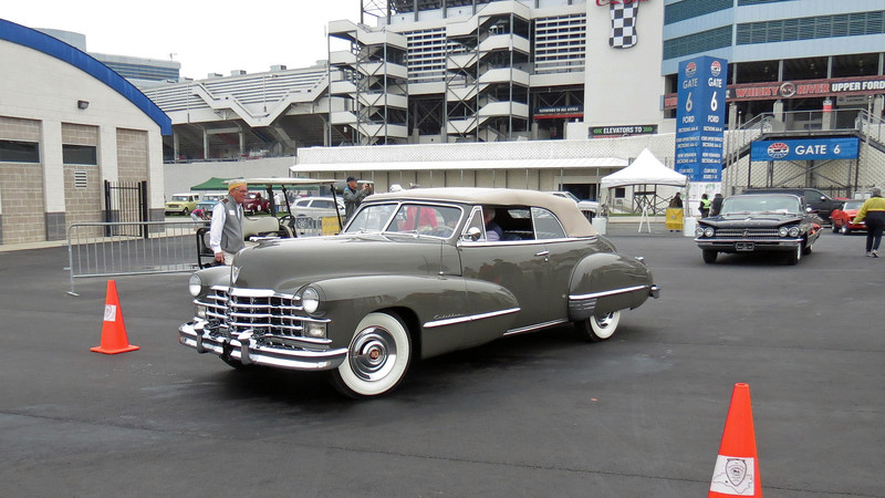 I was drooling over this stunning 1947 Cadillac !