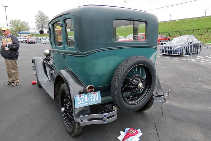 1929 Ford Model A sedan.