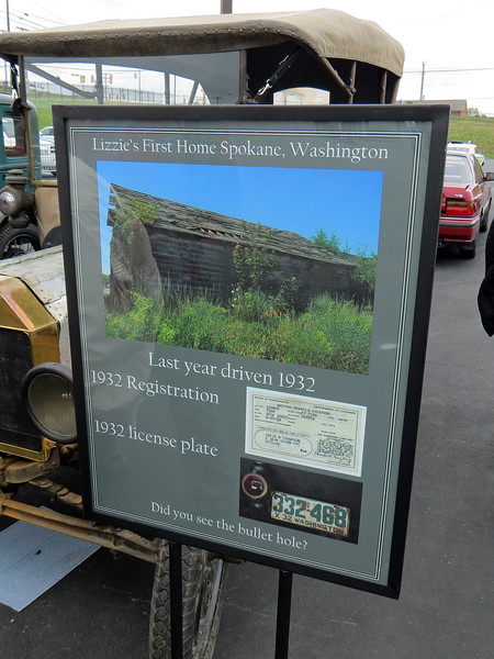 Chris drove the car until 1932 when it was placed in storage in the barn seen in the photo above.  It would remain in that barn for the next 85 years until his granddaughter inherited the car.