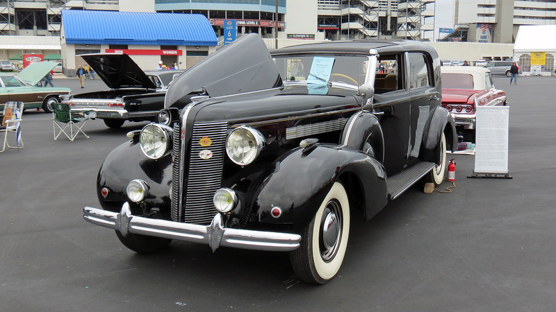 A stunning and extremely rare 1937 Buick Series 80 Roadmaster with a custom Franay body.