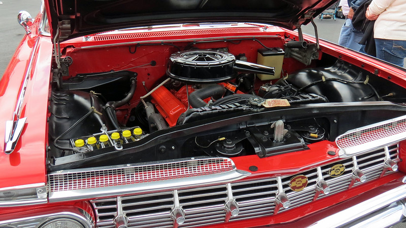 Power comes from Chevrolet's 283 CID V8.