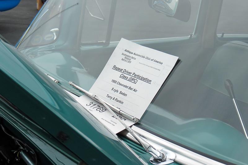 1955 Chevrolet Bel Air.