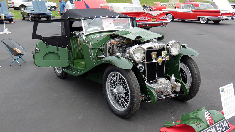 This car underwent a 5-year authentic restoration beginning in 2013.