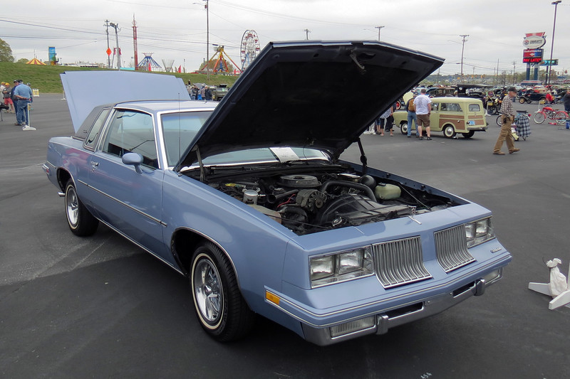 1984 Oldsmobile Cutlass.