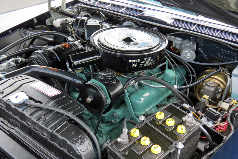 Power comes from Buick's 401 CID 'Nailhead' V8 that makes 325 hp.