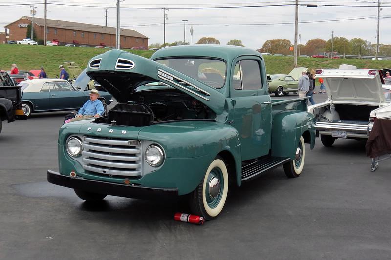 1950 Ford F1 pickup.