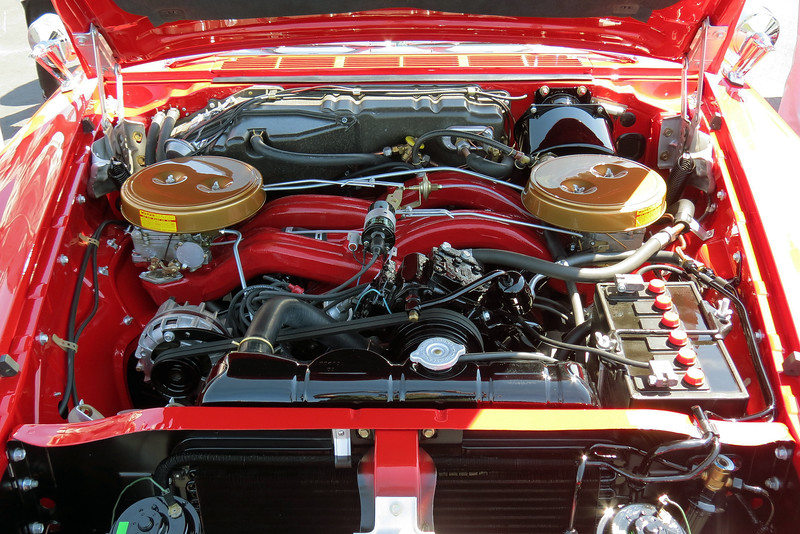 Not only does the Long Ram setup make power, it's also beautiful to behold.  This intake design is a work of art !