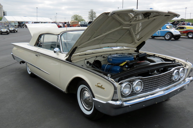 1960 Ford Galaxie Sunliner convertible.