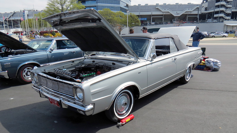 1966 Dodge Dart GT convertible.