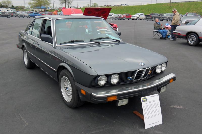 1985 BMW 535i.