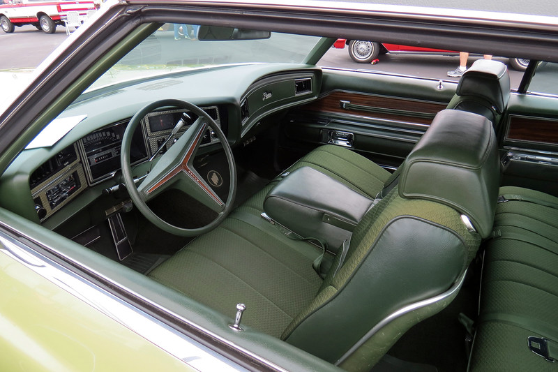 "The exterior color is code K-42 ""Willowmist Green"" with a matching green interior."