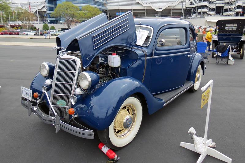 1935 Ford Model 48 sedan.