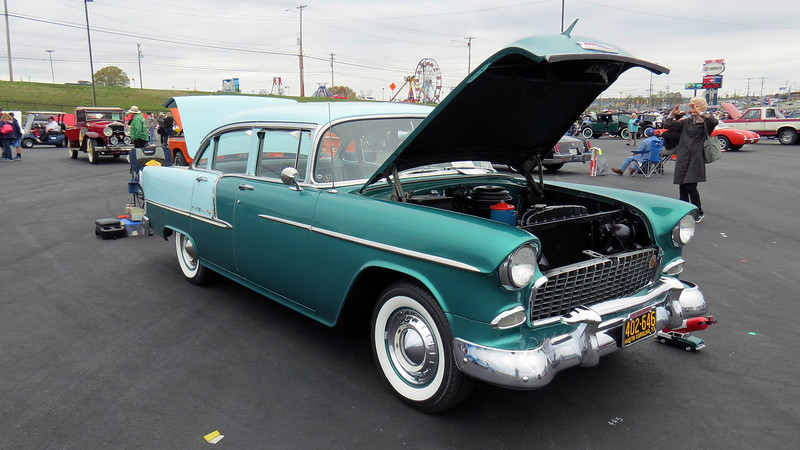 "If you had to pick an old car to drive regularly, it's hard to beat the ""Tri-Five"" Chevrolets from 1955 - 57.  Parts and service support are tremendous.  Just about any part you could want/need is widely available."