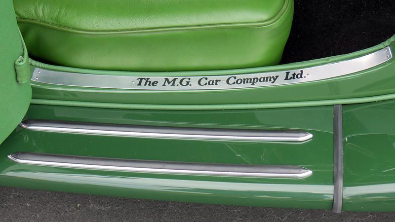 A very rare 1934 MG PA.