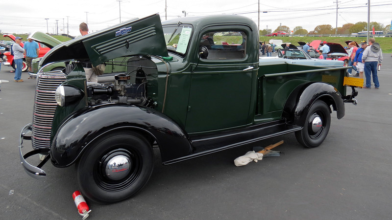 1938 Chevrolet half-ton pickup.