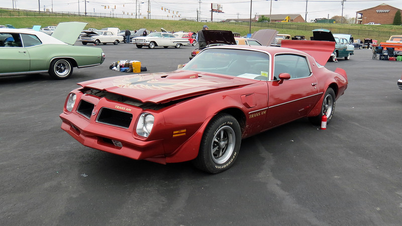 1976 Pontiac Firebird Trans Am.
