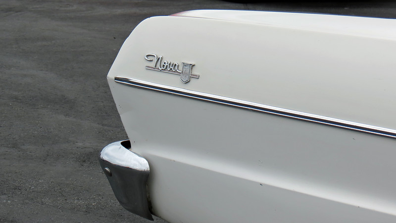 The Chevy II was available in three trim levels:  The entry-level 100, mid-level 300, and upper-level Nova 400.