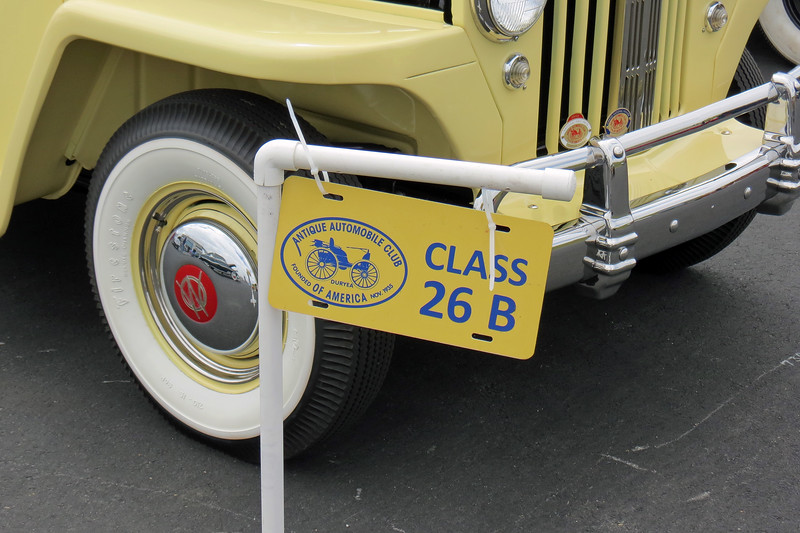"""Class 26B:  Production Vehicles excluding 1948 Ford, 1948 - 1949.<br /> <br /> Classes 26 and 27 are for """"mass produced identical models.""""  As the name implies, the term """"Production Vehicles"""" covers a large pool of potential entrants and is, therefore, divided into a total of 23 different sub-classes grouped by model year."""