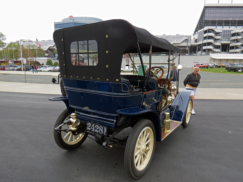 A stunning 1911 Buick Model 33 Touring.