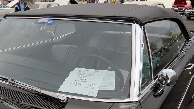 1966 Pontiac Catalina convertible.