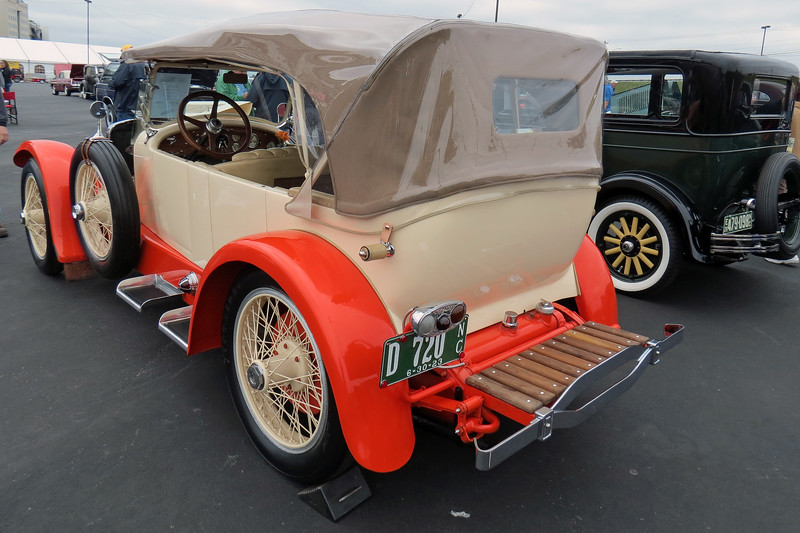Stutz cars quickly gained a reputation for being fast.  All was well until 1919 when Stutz left the company to start the H. C. S. Motor Car Company, (which stood for Harry C. Stutz), to market cars like this Series IV.