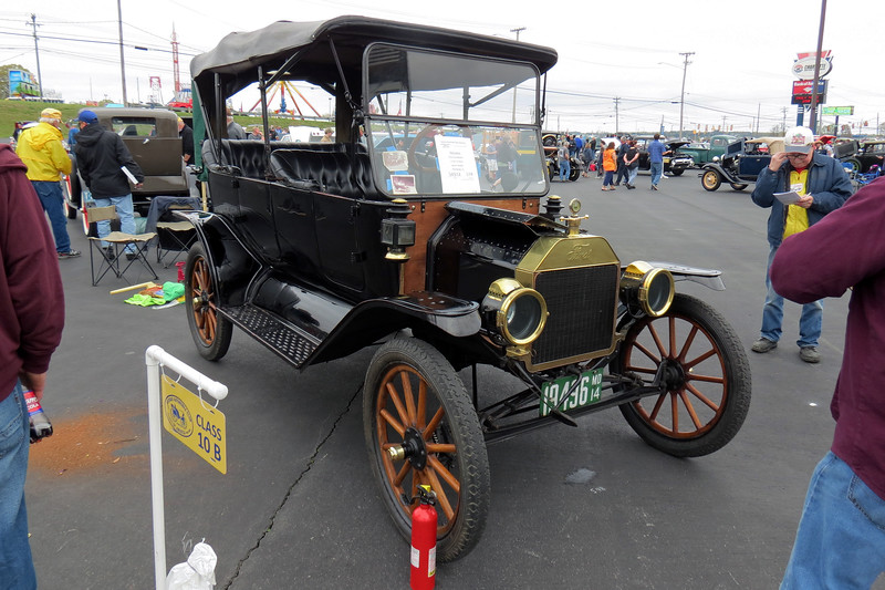 1914 Ford Model T.