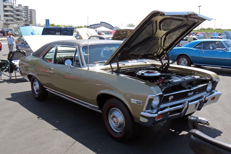 1968 Chevrolet Nova SS350.