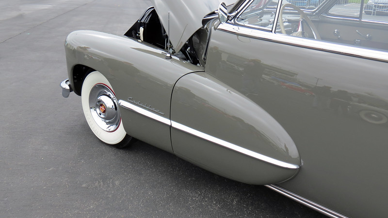 1947 Cadillac Series 62 convertible.