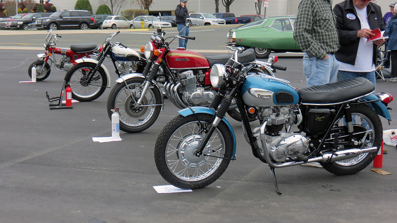 Class 05H:  Motorcycles, 1960 - 1994.
