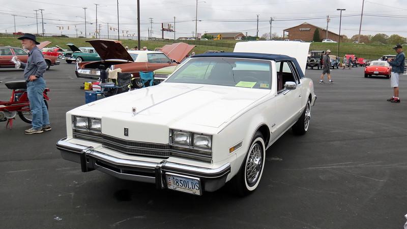1985 Oldsmobile Toronado.