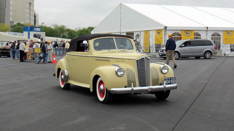 1941 Packard 110 convertible.