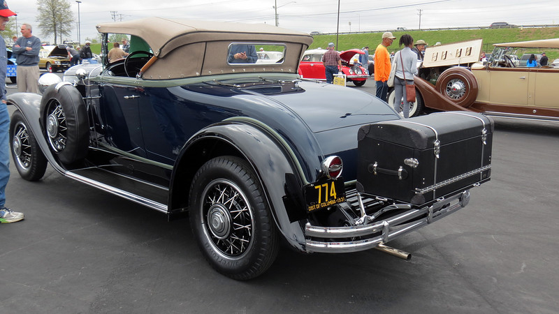 """The sign displayed with the car called it a """"94,"""" which I believe refers to the car's model code """"8-94"""" which translates to a 4-passenger sport roadster.  This is a very rare car being 1 of 843 made that year."""