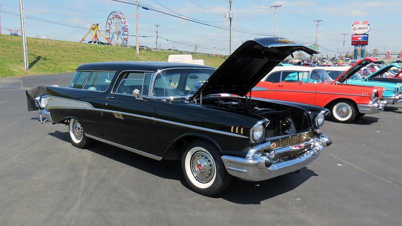 1957 Chevrolet Nomad wagon.