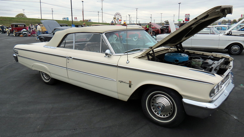 "This car is one of 29,713 Galaxie 500XL ""Sunliner"" convertibles made that year."