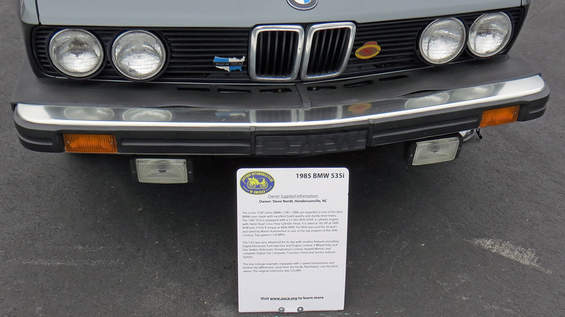 The E28 body BMW is very well liked and has a large following.  This car has the very desirable 5-speed manual transmission.
