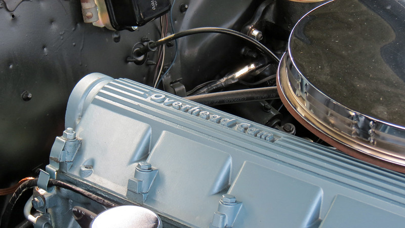 But in an industry dominated by the V8, the OHC 6 wasn't a big seller.  The engine was dropped after the 1969 model year.