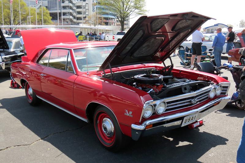 1967 Chevrolet Chevelle SS396.