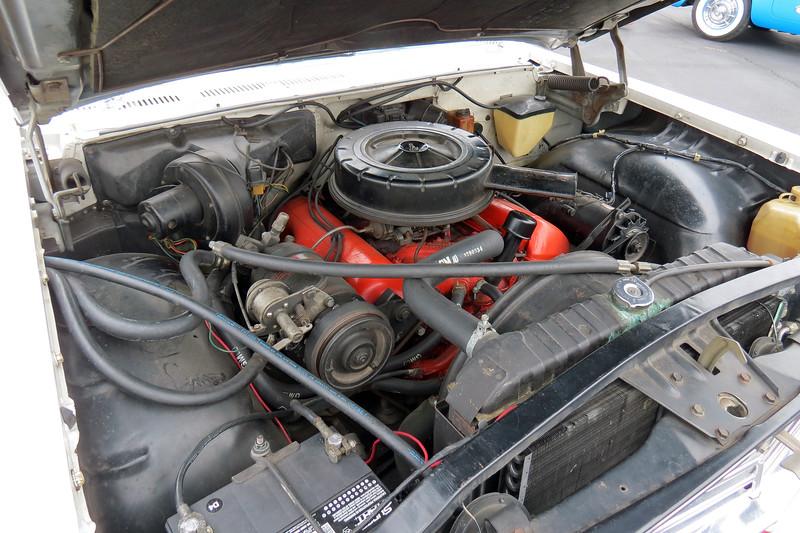"This car has the 348 CID ""W"" V8."