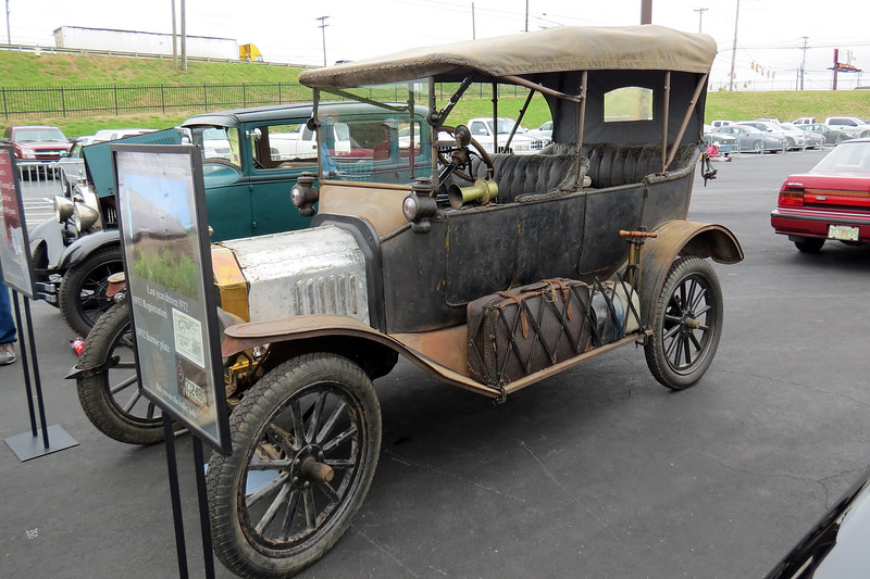 1915 Ford Model T Touring Car.