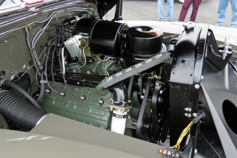 Power comes from Cadillac's 346 CID V8 that makes 150 hp.